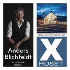 ANDERS BLICHFELDT I X-HUSET