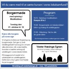 BORGERMØDE FOR ALLE I X-HUSET