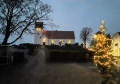 Juleaften i Sandholts Lyndelse kirke