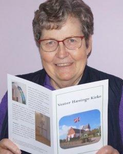 Præsentation af ny folder om V. Hæsinge kirke
