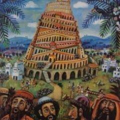 Familie gudstjeneste Babelstårnet og Folkemusikken.